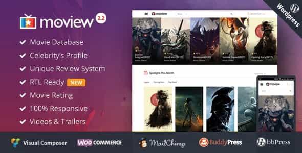 WordPress Film Teması – Mobil Uyumlu Dizi ve Video Teması
