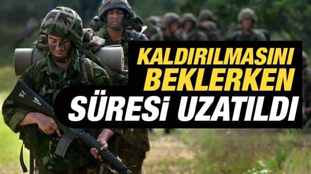 2018 Bedelli Askerlik Süresi Uzatıldı
