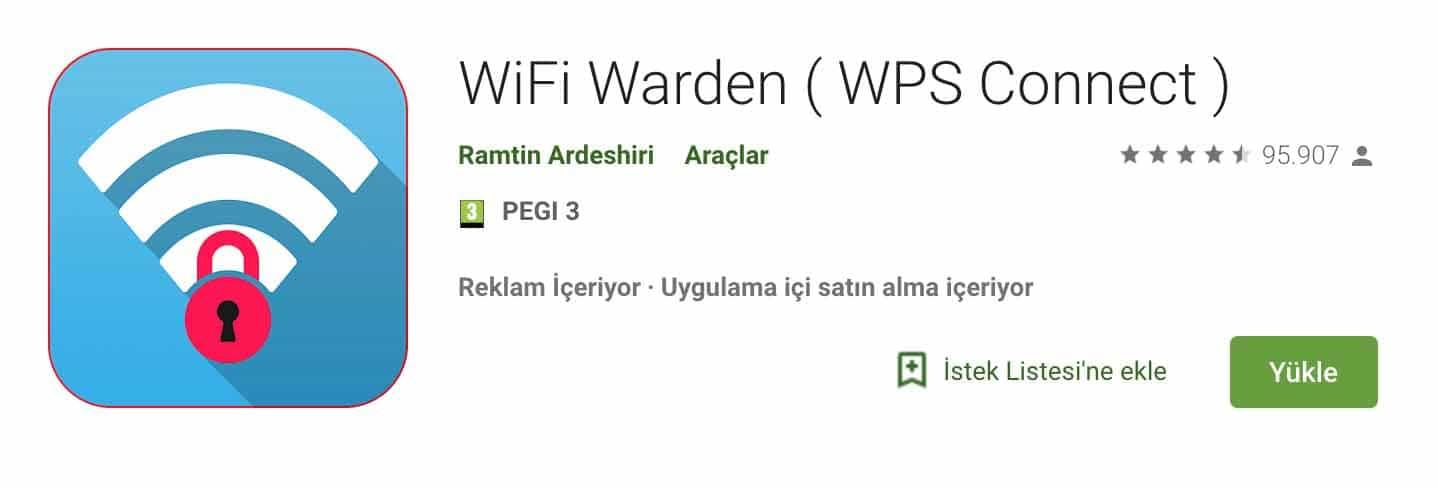 Wifi Warden - WPS Wifi Kırıcı » Deşifre